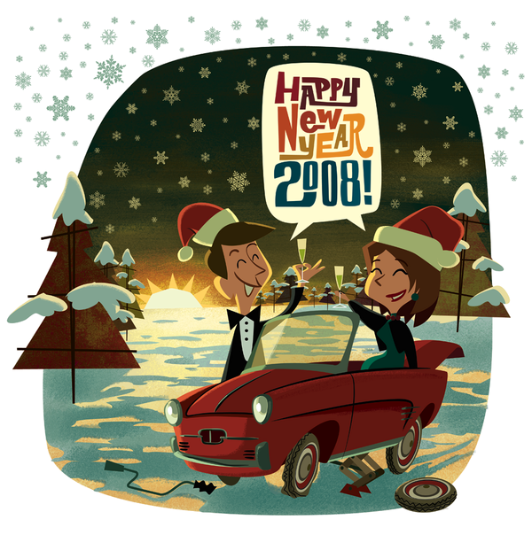 Happy New Year 2008! cover