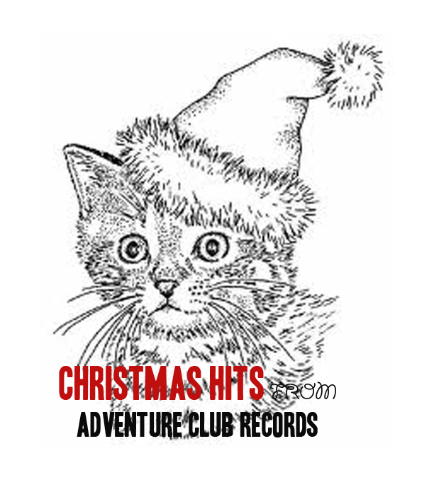 Christmas Hits from Adventure Club Records cover