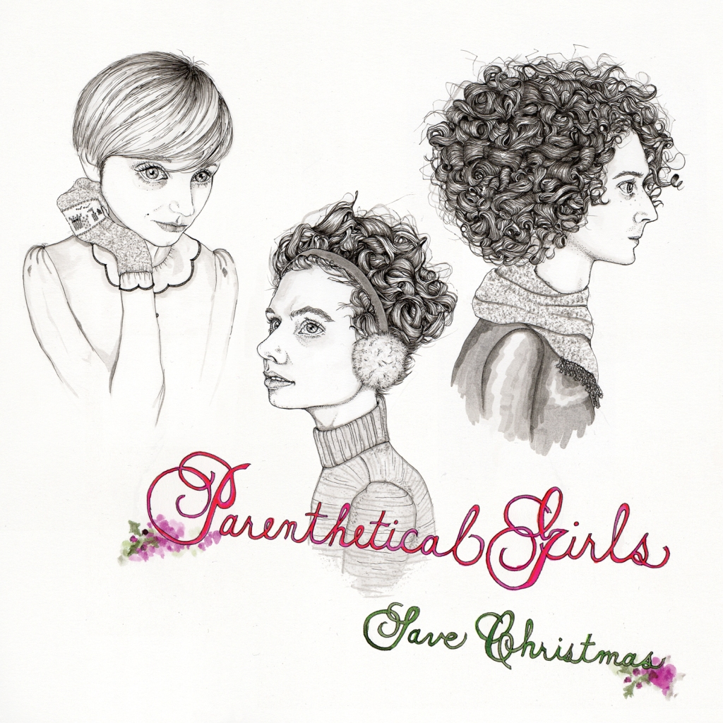 Parenthetical Girls Save Christmas cover