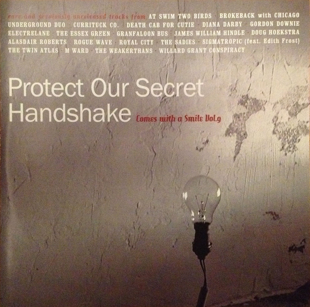 Comes with a Smile: Protect Our Secret Handshake