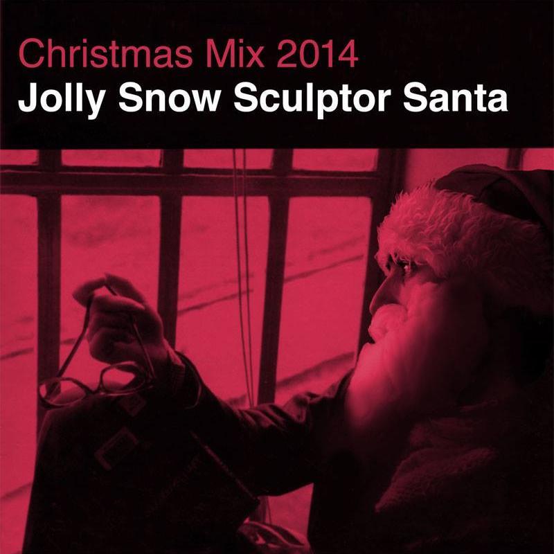 Jolly Snow Sculptor Santa