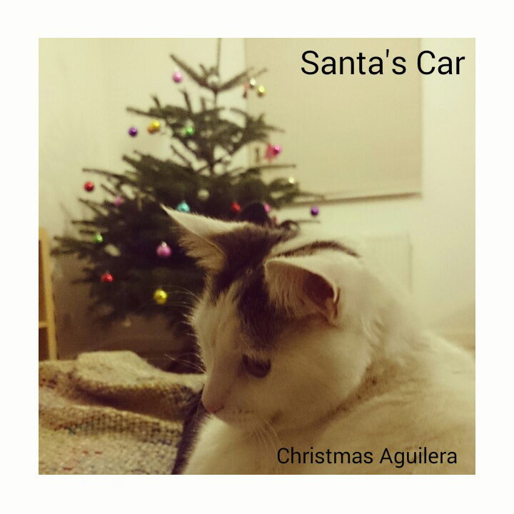 "Christmas Aguilera ""Santa's Car"""