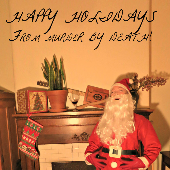 Murder By Death Christmas Covers 2014