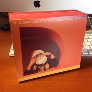 Jolly Snow Sculptor Santa Box (Front)