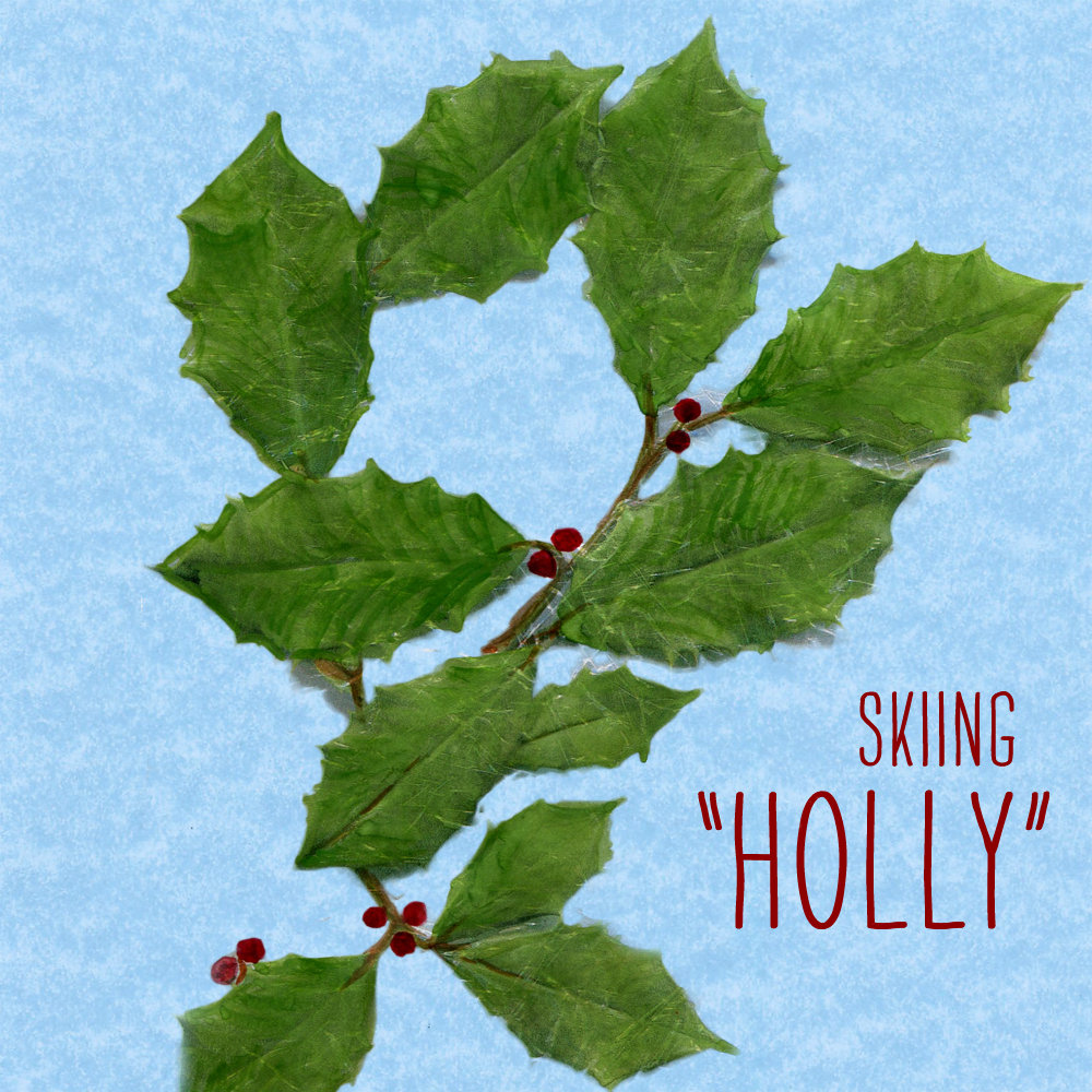 "Skiiing ""Holly"""