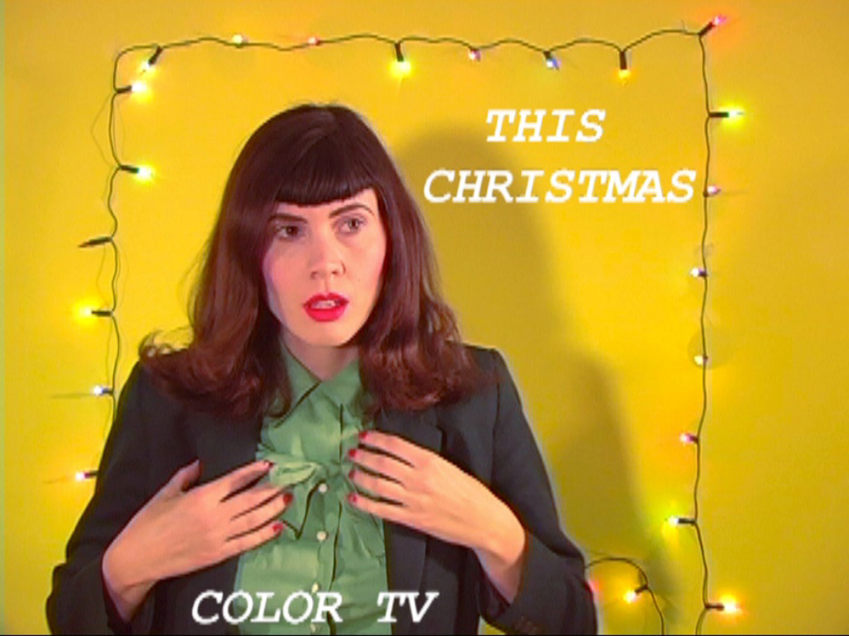 Color TV - This Christmas